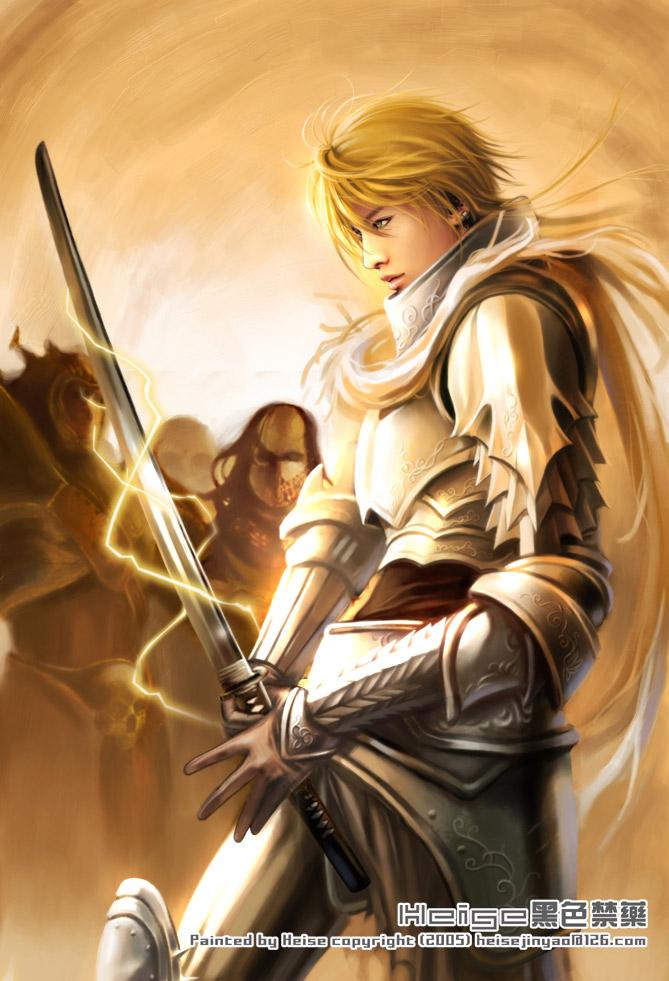 Warrior_by_heise